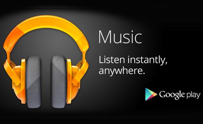 Google Play Music crée une formule famille
