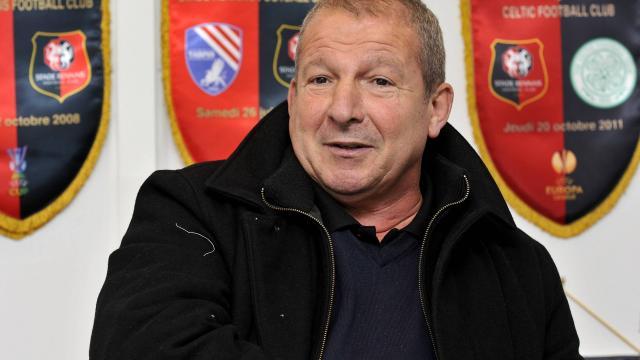 Rolland Courbis nommé entraineur de Rennes.