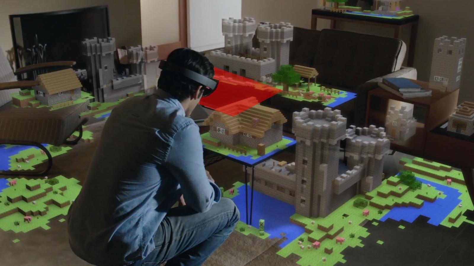 HoloLens : les premiers jeux et applications sont connus